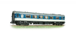 374-221A Graham Farish: Mk1 FK Pullman Kitchen Car 1st. Reverse Blue/Grey